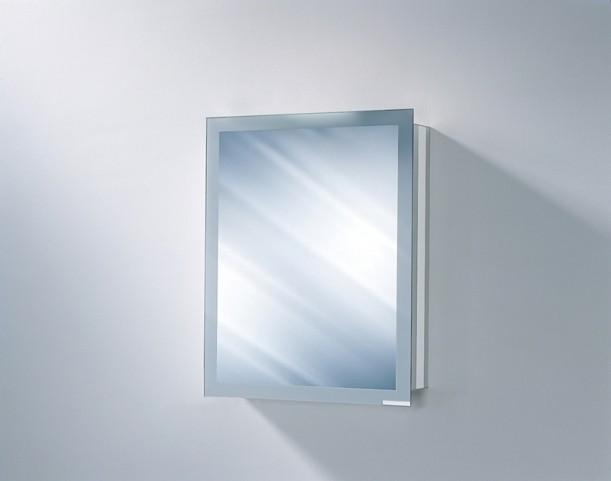 "Axara 23"" Hinge Right Non Electric White Mirror Cabinet"