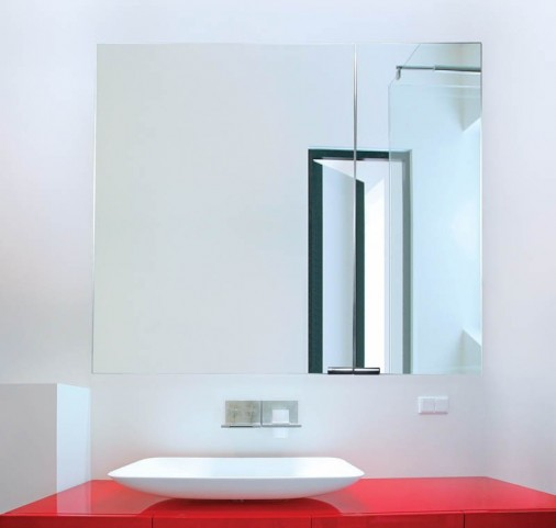 "Diamando None Electric 35"" Hinge Right Mirror Cabinet"