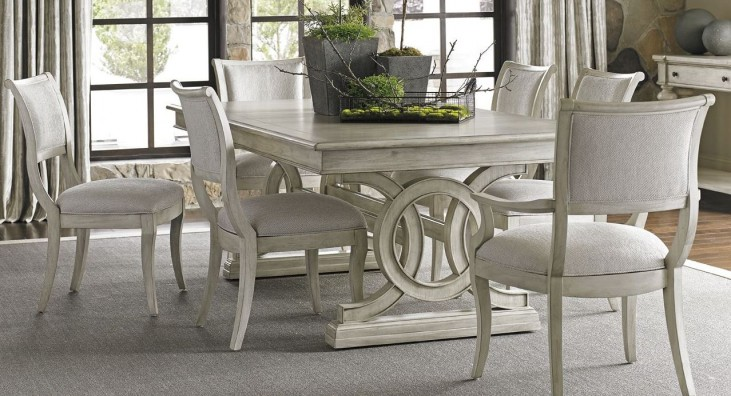 Oyster Bay Montauk Extendable Rectangular Dining Room Set