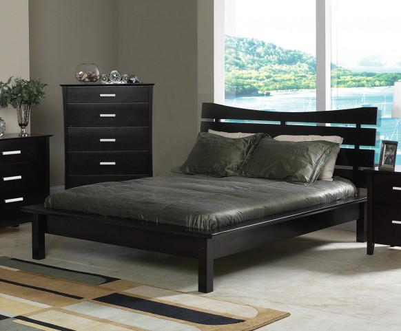 Mod Queen Size Bed