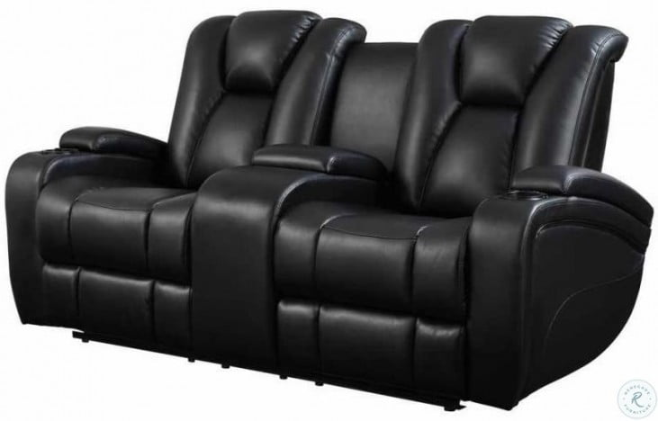 Sensational Delange Power Reclining Loveseat Gmtry Best Dining Table And Chair Ideas Images Gmtryco
