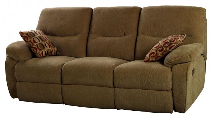 Manchester Cocoa Dual Reclining Sofa