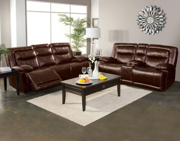 Torino Brown Power Reclining Living Room Set