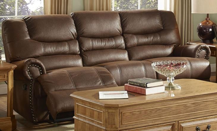 Laredo Cordova Mocha Dual Reclining Sofa