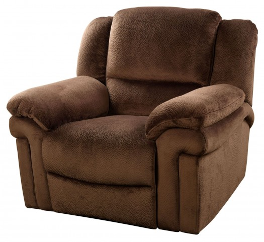 Jared Chocolate Glider Recliner