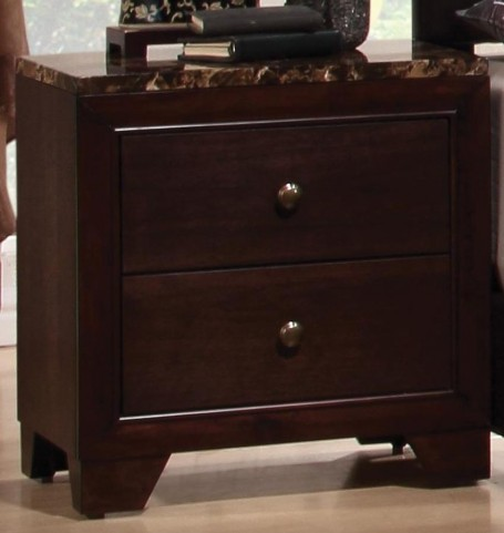 Conner Nightstand W/ Faux Marble Top