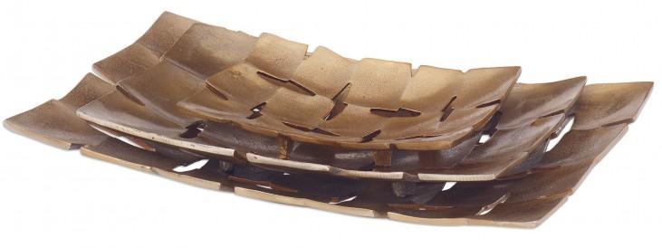 Carlo Copper Trays Set of 6