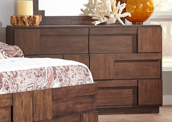 Gallagher Golden Brown Dresser