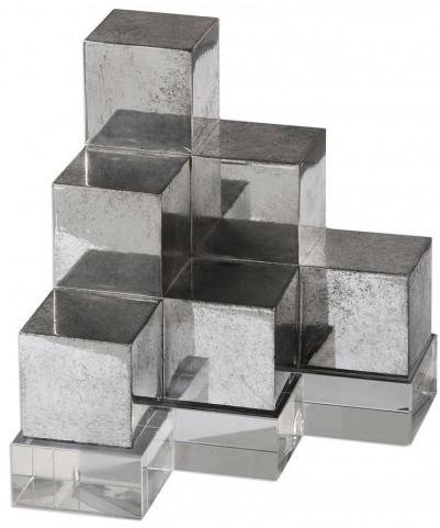 Valerio Silver Bookends Set of 2