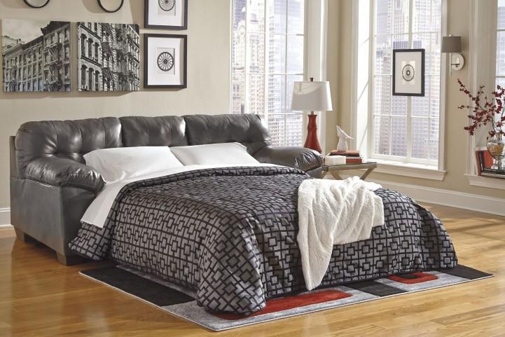 Alliston DuraBlend Gray Queen Sofa Sleeper