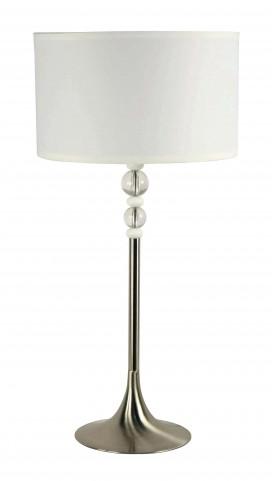 Luella Brushed Steel Table Lamp