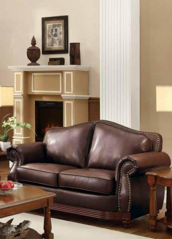 Midwood Show-Wood Loveseat