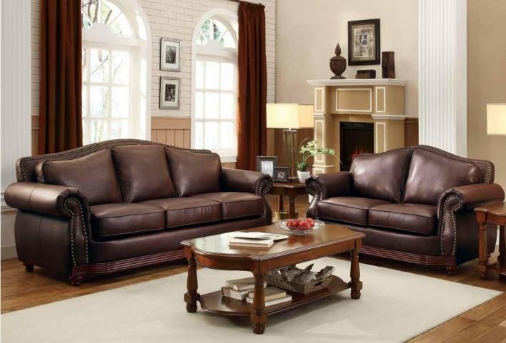 Midwood Show-Wood Living Room Set