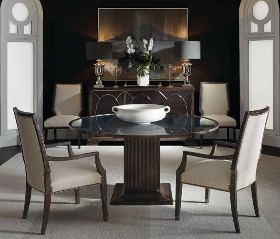 Clarendon Arabica Round Dining Room Set