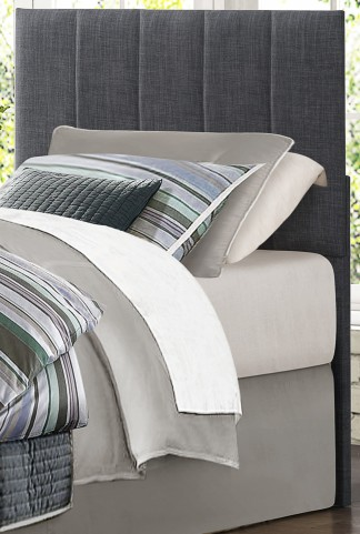 Potrero Gray Fabric Queen/Full Headboard