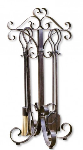Daymeion Metal Fireplace Tools, Set of 5