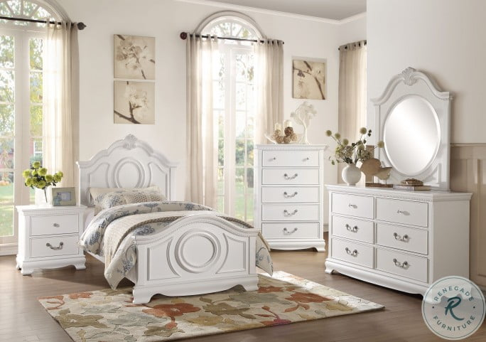 Lucida White Dresser