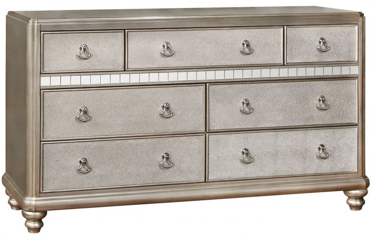 Bling Game Metallic Platinum Dresser