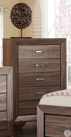 Kauffman Washed Taupe Chest