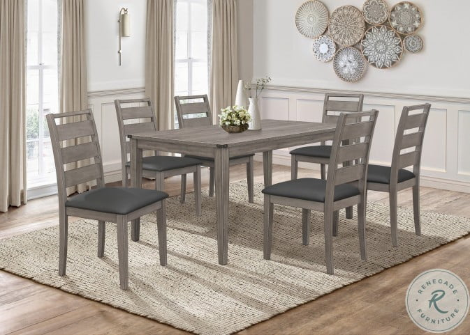 Woodrow Gray Dining Room Set From Homelegance Coleman Furniture