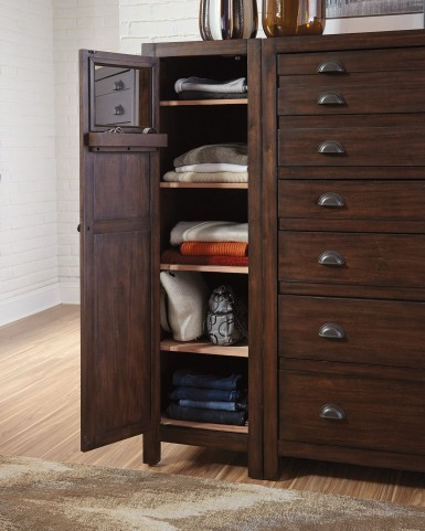Lanchester Cocoa Left Side Wardrobe Cabinet by Donny Osmond