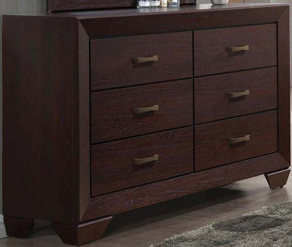 Fenbrook Dark Cocoa Dresser
