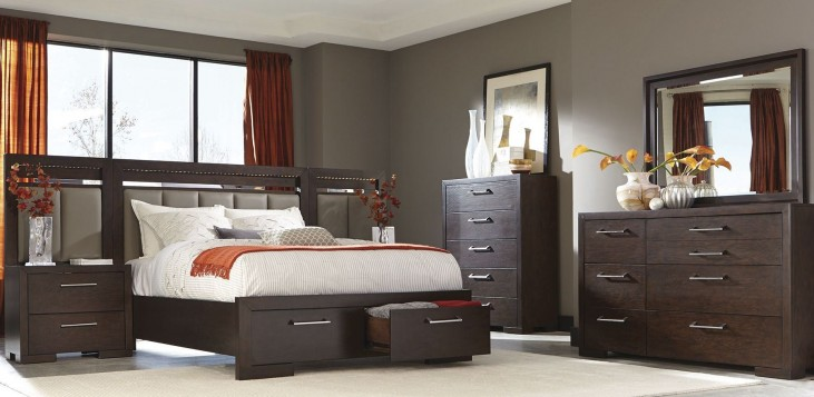 Berkshire Bitter Chocolate Storage Bedroom Set