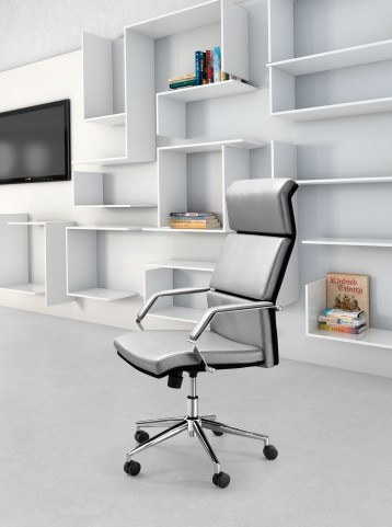 Lider Pro Silver Office Chair