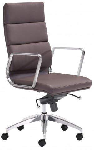 Engineer Espresso High Back Office Chair