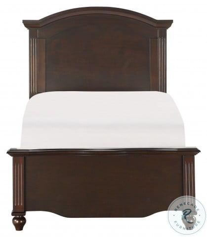 Meghan Espresso Twin Panel Bed