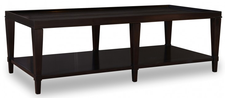 Cosmopolitan Ebony Rectangular Cocktail Table