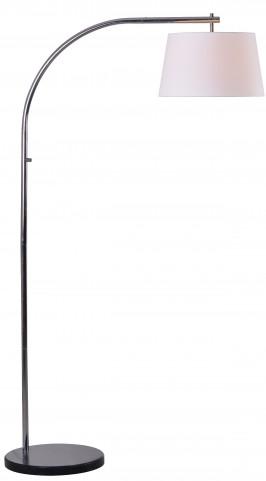 Sweep Arc Chrome Floor Lamp