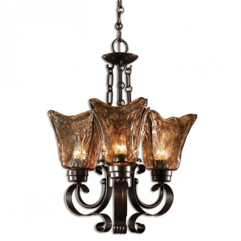Vetraio 3Lt Oil Rubbed Bronze Chandelier