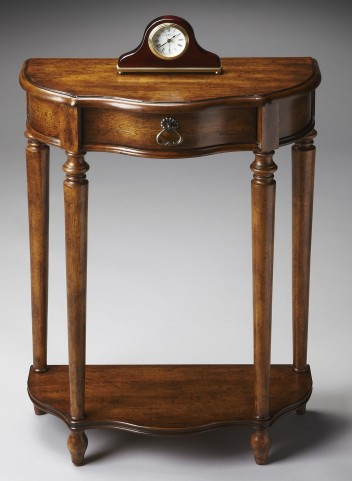 2101236 Masterpiece Dark Toffee Console End Table