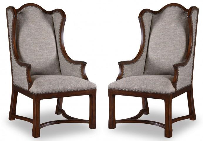Egerton Upholstered Arm Chair Set of 2
