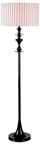 Claiborne Black Gloss Floor Lamp