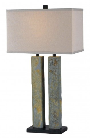 Barre Natural Slate Table Lamp