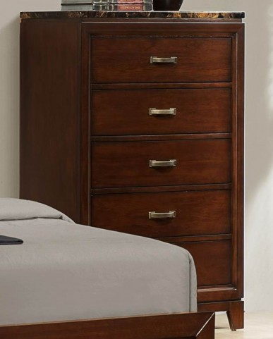 Ottowa Paper Marble Top Chest