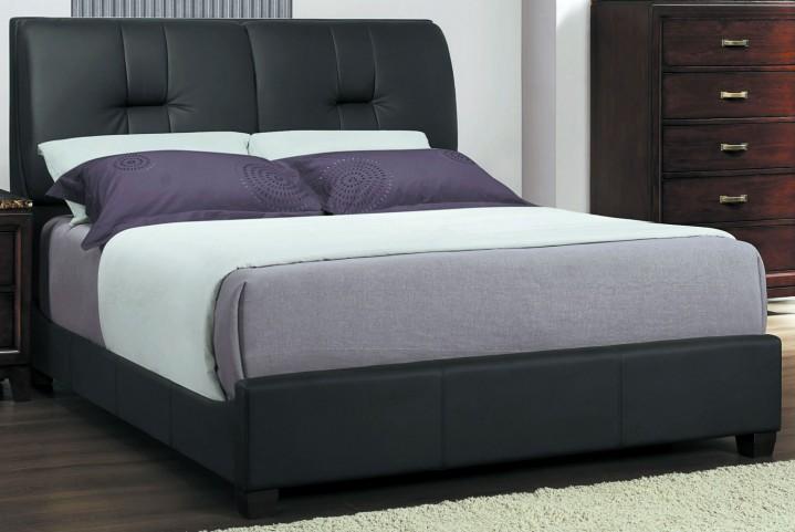 Ottowa Cal. King Fabric Panel Bed