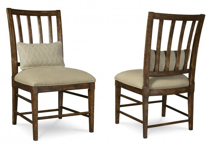 Echo Park Huston's Arroyo Slat Back Side Chair Set of 2