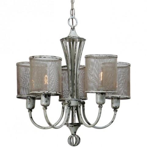Pontoise 5 Light Vintage Chandelier