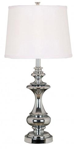 Stratton Chrome Table Lamp