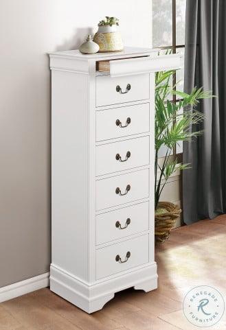 Mayville White Sleigh Bedroom Set