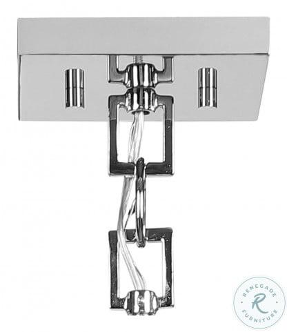 Newburgh Polished Nickel 1 Light Mini Pendant