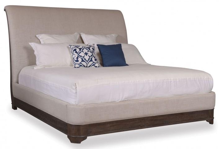 St. Germain Queen Upholstered Sleigh Bed