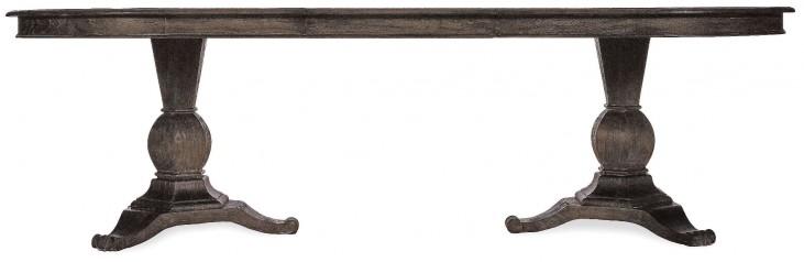 St. Germain Rectangular Double Pedestal Extendable Dining Table