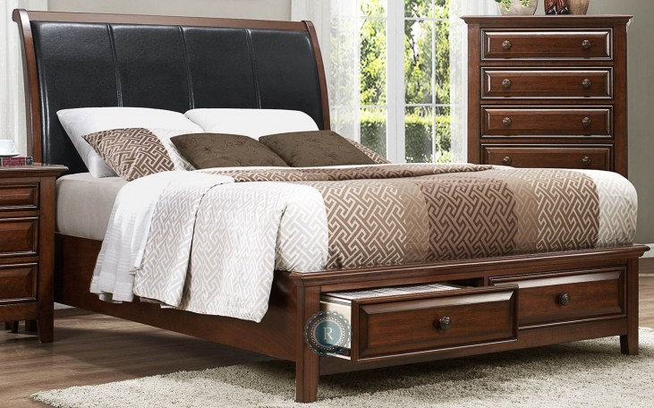Sunderland King Platform Storage Bed