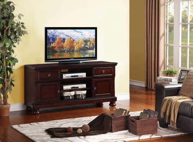 "Cumberland Medium Brown 62"" TV Stand"