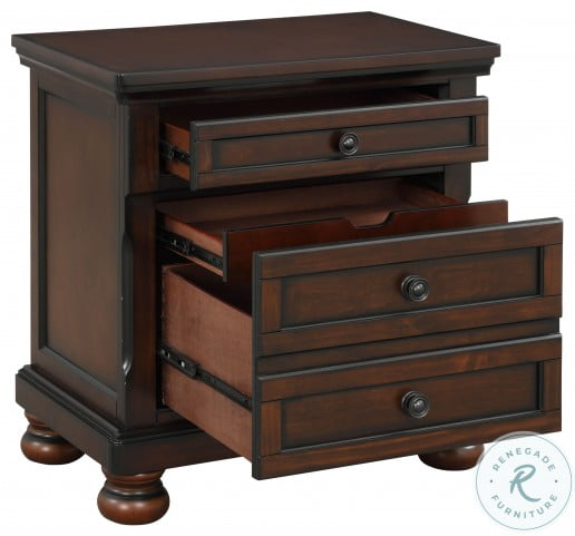 Cumberland Brown Cherry Nightstand