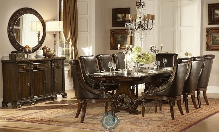 Orleans Trestle Extendable Dining Room Set